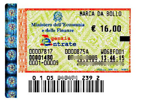 A cosa serve la marca da bollo